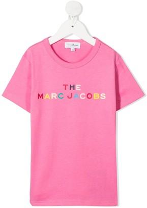 The Marc Jacobs Kids multicolour logo T-shirt