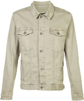 Zanerobe Greaser denim jacket - men - Cotton/Spandex/Elastane - M