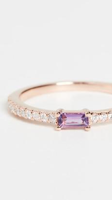 My Story 14k The Julia Birthstone Ring - February