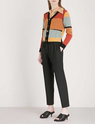Joseph Lound relaxed-fit cropped woven trousers