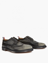 Thom Browne Distressed Leather Longwing Brogues