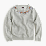 J.Crew Girls' cashmere necklace sweater