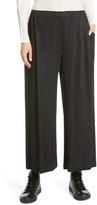 Pleats Please Issey Miyake Pleated High Waist Crop Pants