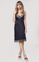 Blue Life satin rhapsody dress