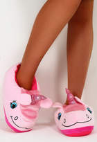 Pink Boutique I Love Unicorns Slippers