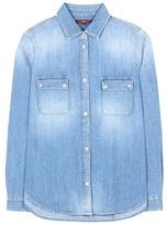 7 For All Mankind Uniform Denim Shirt