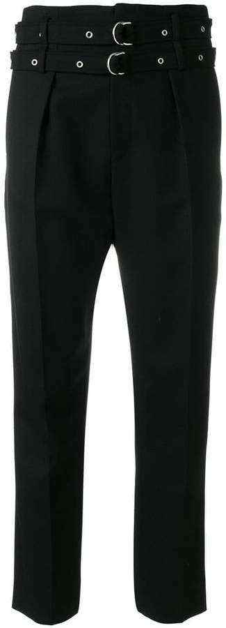 IRO buckled cropped trousers