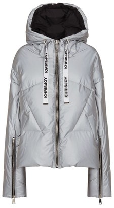 KHRISJOY Reflective Puffer Jacket