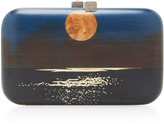 Silvia Furmanovich Moonlight Embellished Wood Clutch
