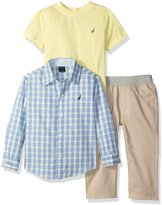 """Nautica Little Boys' Toddler """"Wentworth"""" 3-Piece Outfit"""