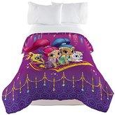Nickelodeon Nick Jr Shimmer and Shine Magical Wonders Twin/Full Comforter