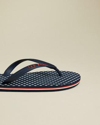 Ted Baker SEEZUX Branded flip flops