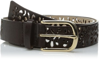 Steve Madden Women's Perforated Pant Belt