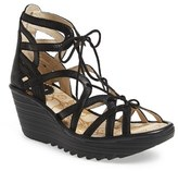 Fly London Women's 'Yuke' Platform Wedge Sandal