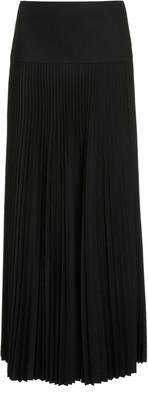 Joseph Bryanna Pleated Wool Skirt
