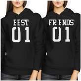 Love 365 Printing Cute Best Friends Hooded Sweatshirts