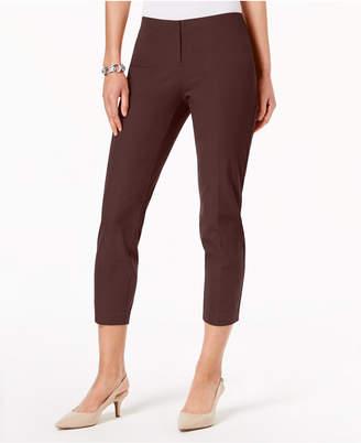 Alfani Petite Hollywood-Waist Skinny Ankle Pants