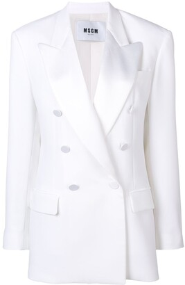 MSGM tailored fit blazer