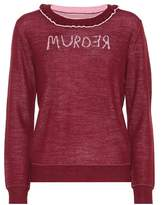 Undercover Murder reversible wool sweater