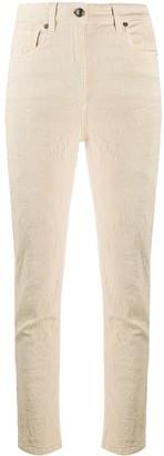Etro Jacquard High-Rise Trousers