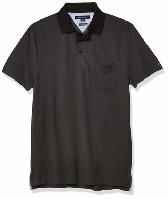 Tommy Hilfiger Men's Recycled Cotton Polo in Custom Fit