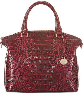 Brahmin Duxbury Melbourne Embossed Leather Satchel