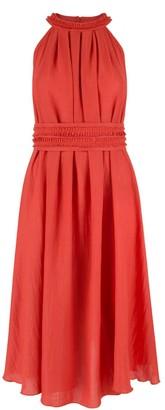 Klaudia Karamandi Olivera Sleeveless Red Dress