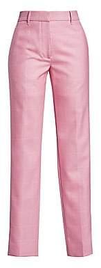 Calvin Klein Women's Check Straight Leg Trousers