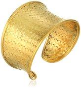 "Satya Jewelry Classics"" Medium Woven Cuff"