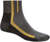 Point 6 Point6 Velo Ultra Light Mini Cycling Socks - Merino Wool, Quarter Crew (For Men and Women)