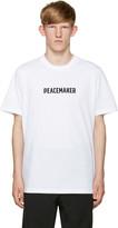 Oamc White Peacemaker T-Shirt