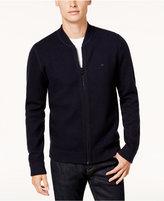 Tommy Hilfiger Men's Boston Reversible Full Zip Sweater