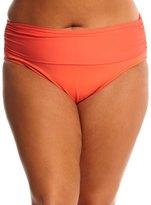 Bleu Rod Beattie Plus Size Solid Midster Bikini Bottom 8144716
