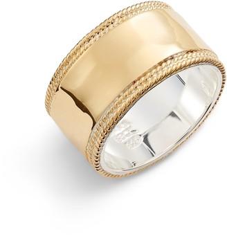 Anna Beck Hammered Band Ring