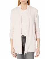 Thumbnail for your product : Daily Ritual Amazon Brand Women's Cozy Knit Rib Draped Open-Front Cardigan Sweater