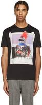 DSQUARED2 Black Picture Print Chic Dan T-Shirt