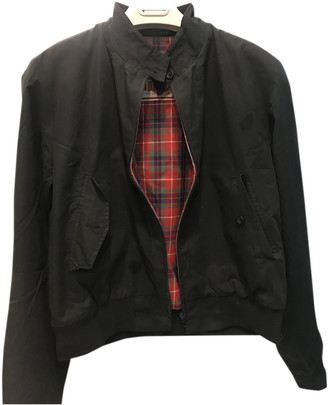 Baracuta Black Cotton Jackets