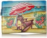 Anuschka Anna By Handpainted Leather Women's Two Fold Wallet Wallet