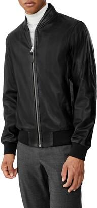 Mackage Kelvin Lambskin Leather Jacket