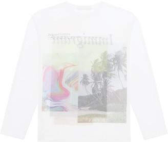 Fenty by Rihanna Immigrant print long-sleeve T-shirt