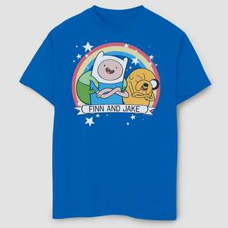 Fifth Sun Boys' Adventure Time Finn And Jake Best Buds T-Shirt - Royal