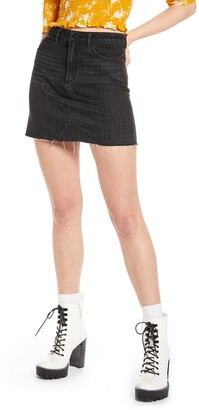 BP X Claudia Sulewski Denim Miniskirt