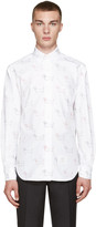 Thom Browne White Classic Hector Shirt