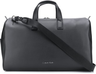 Calvin Klein Central faux-leather holdall