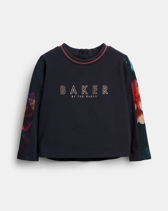 Ted Baker Printed Lounge Set With Logo