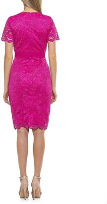 Alexia Admor Lace Sheath Dress