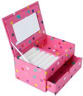 Jane Jewelry Storage, Small Box, Pink Confetti Dots