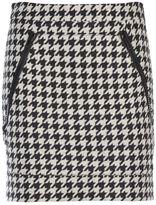 Love Moschino Cotton And Wool Skirt