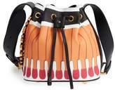 Moschino 'It's Lit Matchbook' Bucket Bag