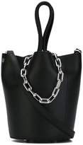 Alexander Wang chain top handles tote - women - Cotton/Leather - One Size